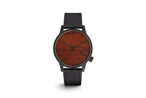 Montre Komono Winston Black wood