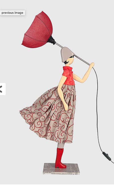 Lampe parapluie GAMBIE