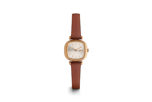 Montre Komono Moneypenny Rose gold brown