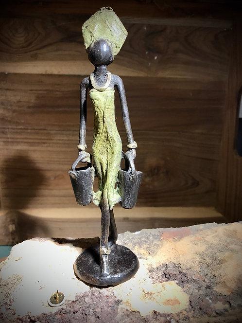 """Petit bronze de Ouagadougou """"S10"""""""
