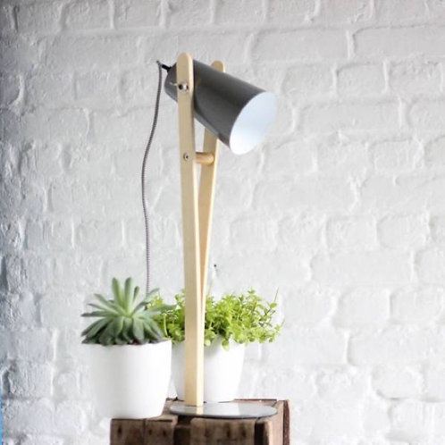 Lampe Angus grise