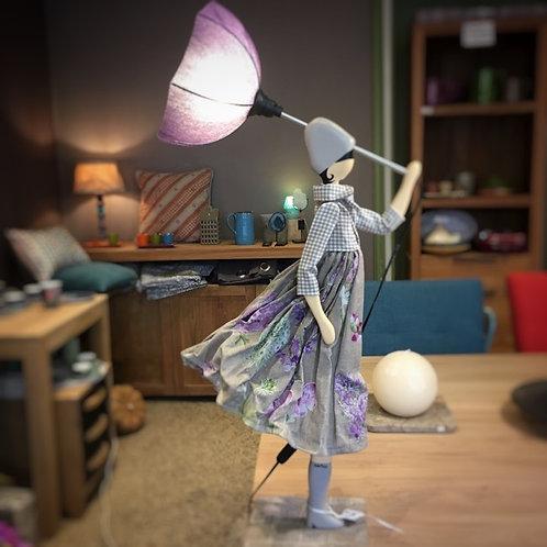 Lampe parapluie Vanda
