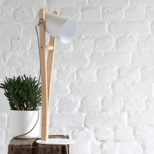 Lampe Angus Blanche