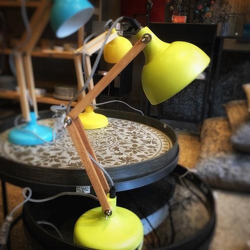 Lampe Mini Dexter vert mat