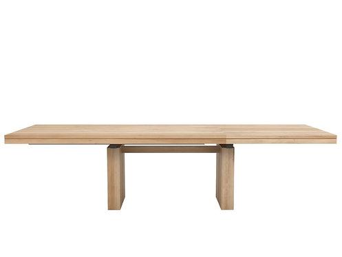 Table en chêne Ethnicraft Double extendable