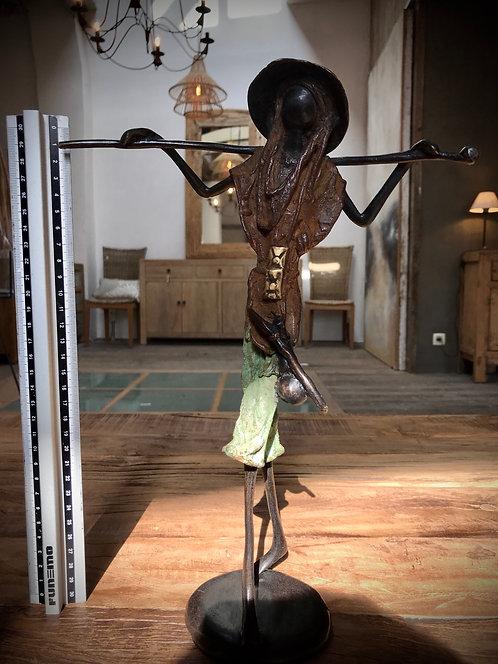 """Grand bronze de Ouagadougou """"L06"""""""