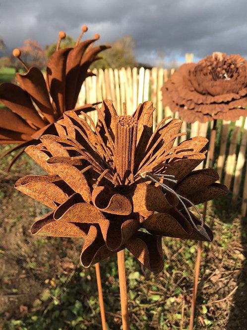 Fleur en métal M