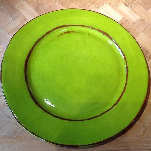 6 Assiettes plate Aubagnes Anis(exemple)