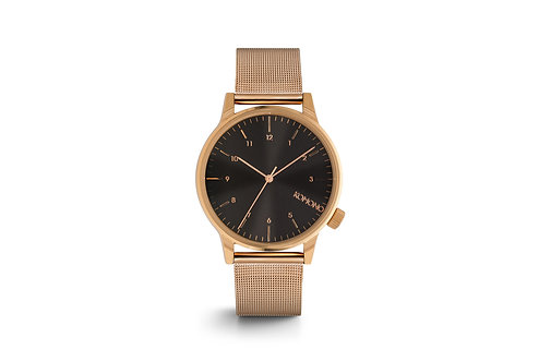Montre Komono Winston Royale rose gold/black