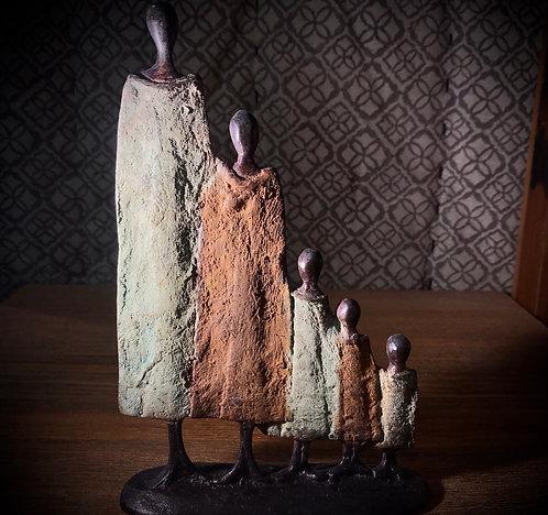 Famille bronze de Ouagadougou «FA03»