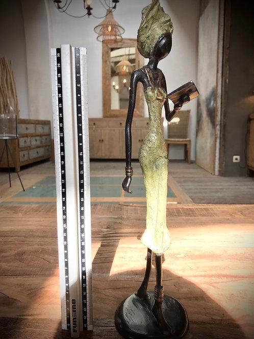 """Grand bronze de Ouagadougou """"L02»"""