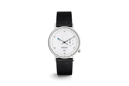 Montre Komono Walther retrograde white