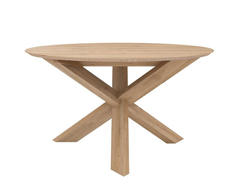 Table en chêne Ethnicraft Circle