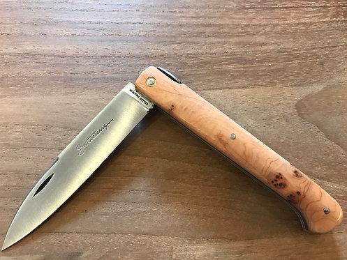 Couteau pliant Sauveterre genévrier