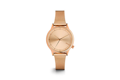 Montre Komono Estelle royale rose gold