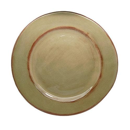 Assiette plate Aubagne Gris