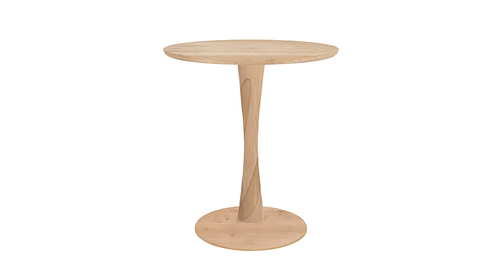Table en chêne Ethnicraft Torsion