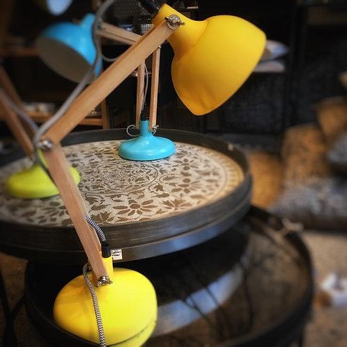 Lampe Mini Dexter jaune mat