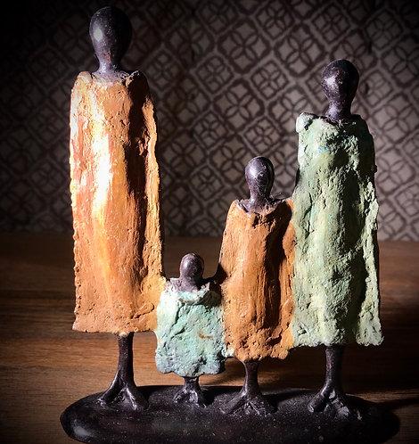 Famille bronze de Ouagadougou «FA04»