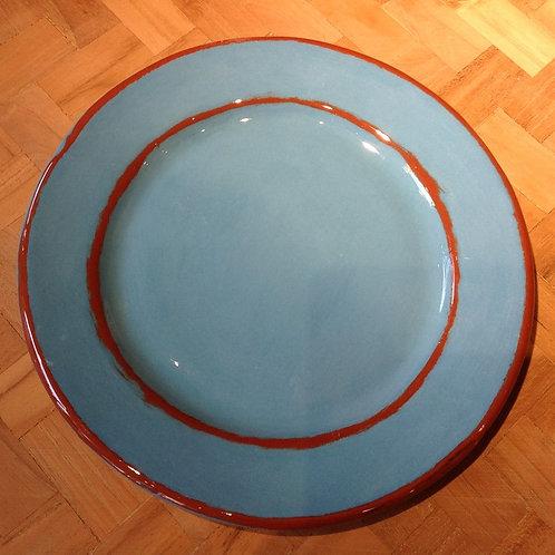 Assiette Dessert Aubagne turquoise
