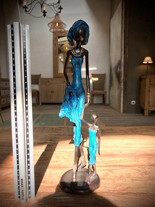 """Grand bronze de Ouagadougou """"L01"""""""