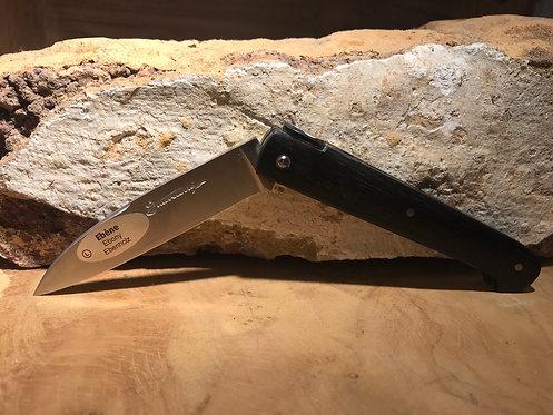 Couteau pliant Sauveterre ébène petit modèle