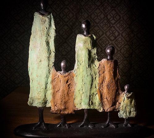Famille bronze de Ouagadougou «FA02»
