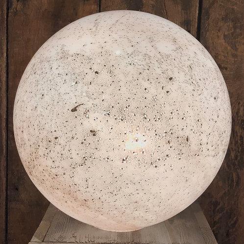 Globe XL en verre blanc