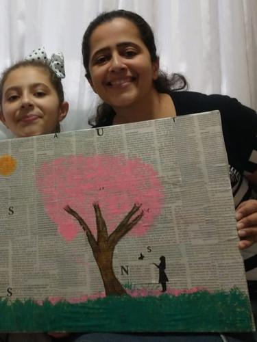 Ana Clara Toquero tem Talento na Arte 5º