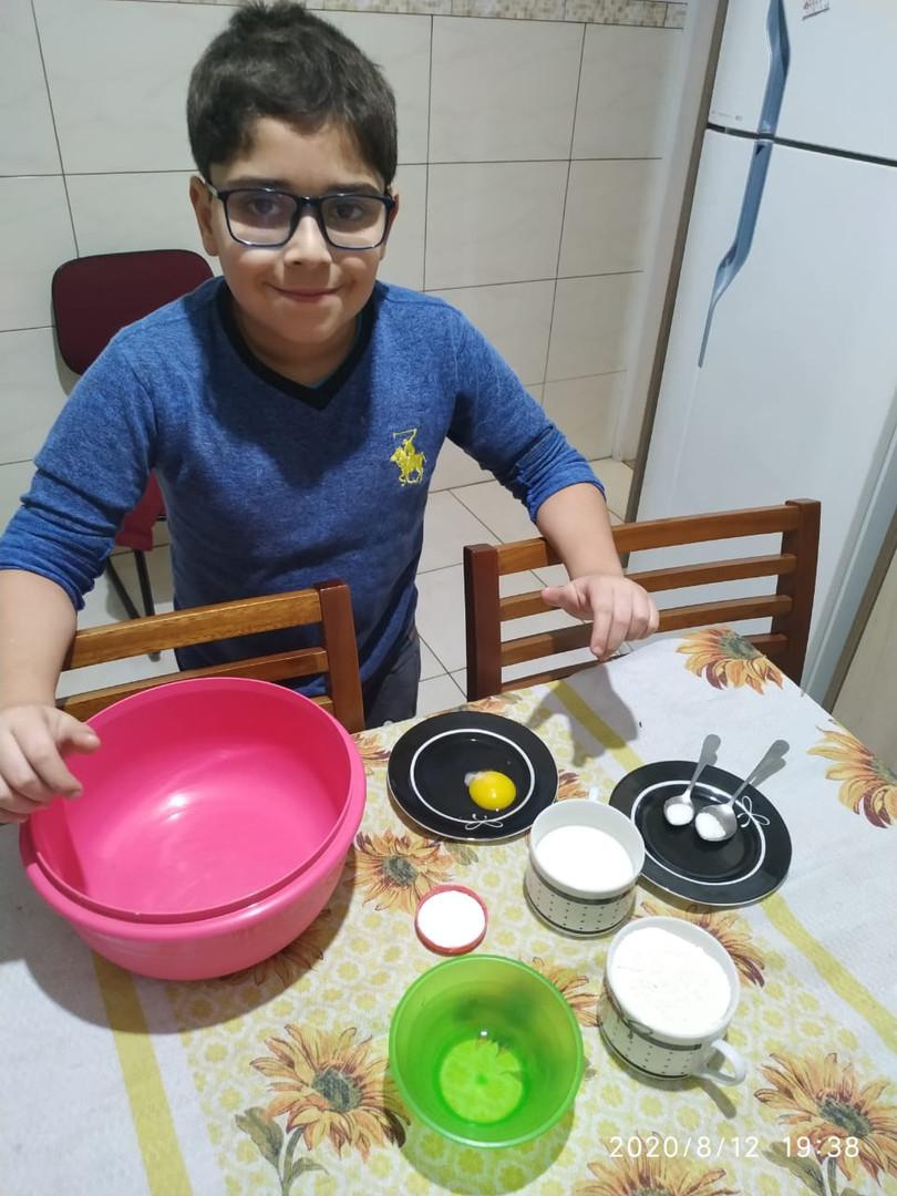 Talento na Cozinha Kauã Lira Brito