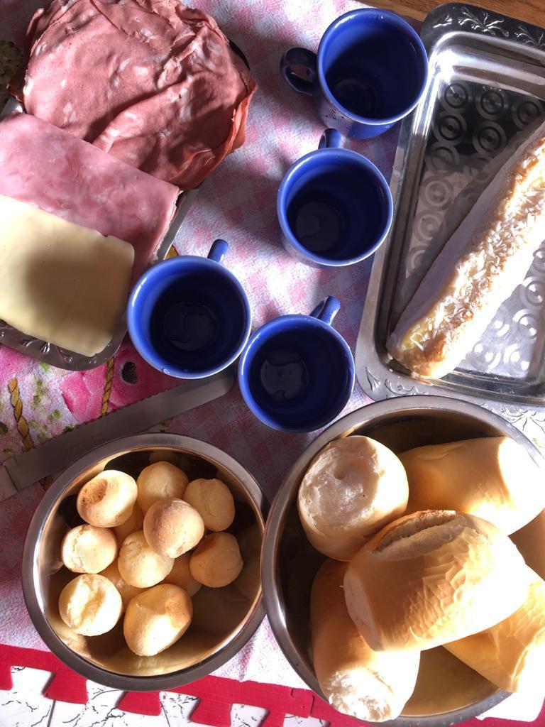 Café da Manhã Família Vieira