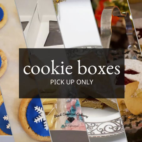 Cookie Boxes Available!
