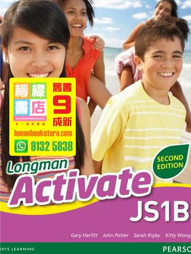 【Pearson】Longman Activate JS 1B (2012 2nd Edition)