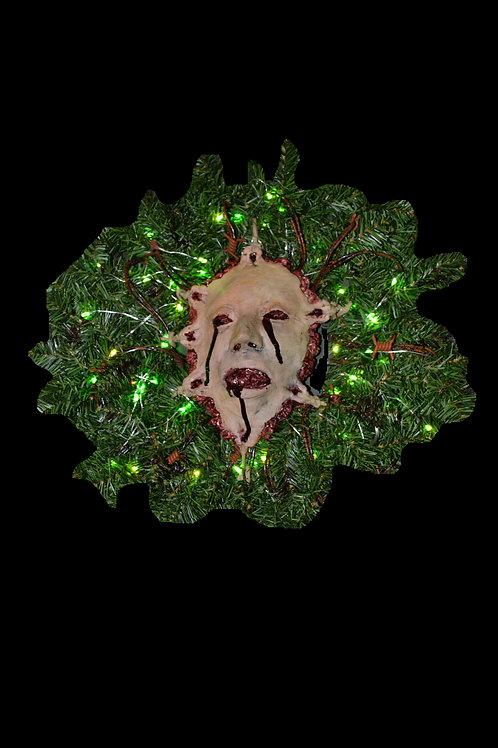 Xmas Hex Wreath