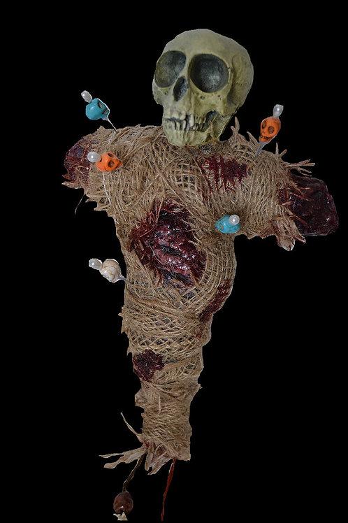 Monkey Skull Voodoo Doll