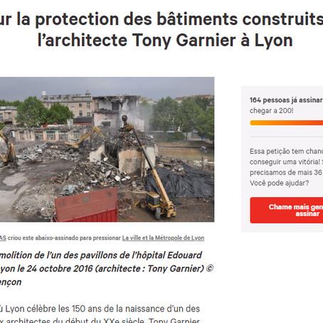 Change.org faz campanha pela proteção dos edifícios do arquiteto Tony Garnier em Lyon