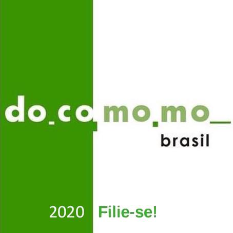 Campanha de filiação Docomomo Brasil 2020