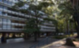 Edifício E1, EESC USP. Foto Ana Karla Olimpio Pereira