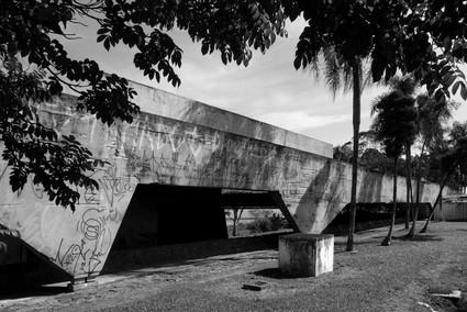 Garagem de Barcos Santa Paula, Vilanova Artigas. Foto André Marques