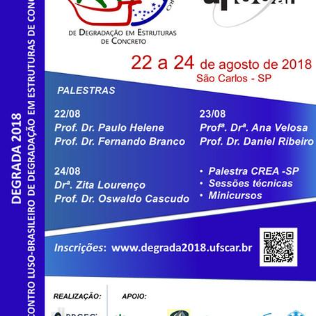 Evento na UFSCar debate degradação de estruturas de concreto