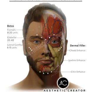 Male Facial Enhancement