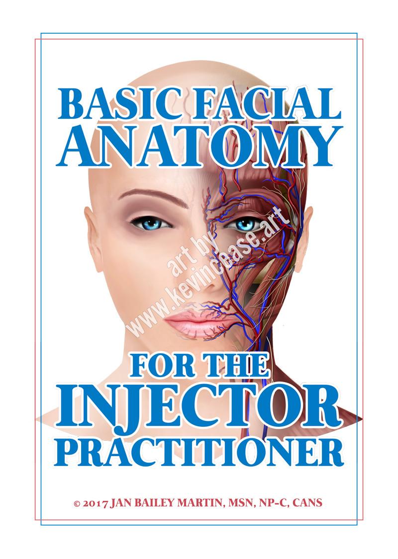 Art | Seattle | Kevin Cease illustration | Facial Anatomy botox Jan ...