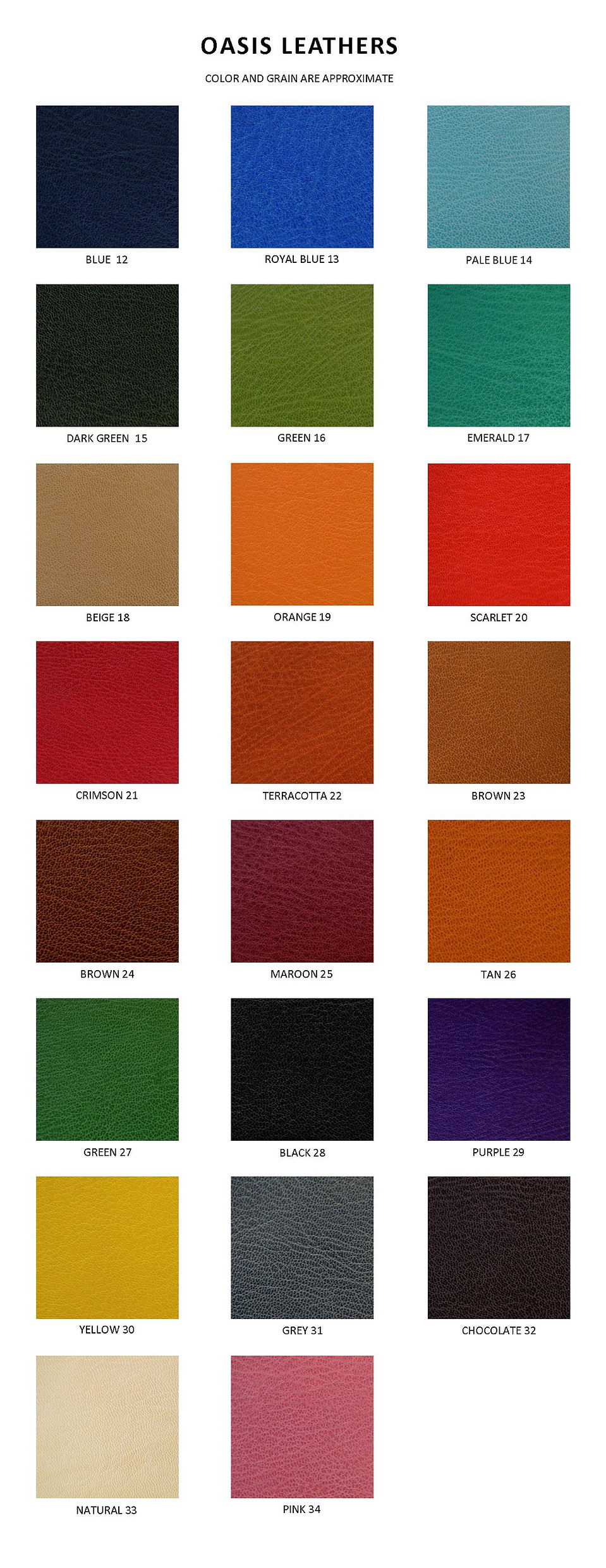 Leathers for Clamshell Boxes