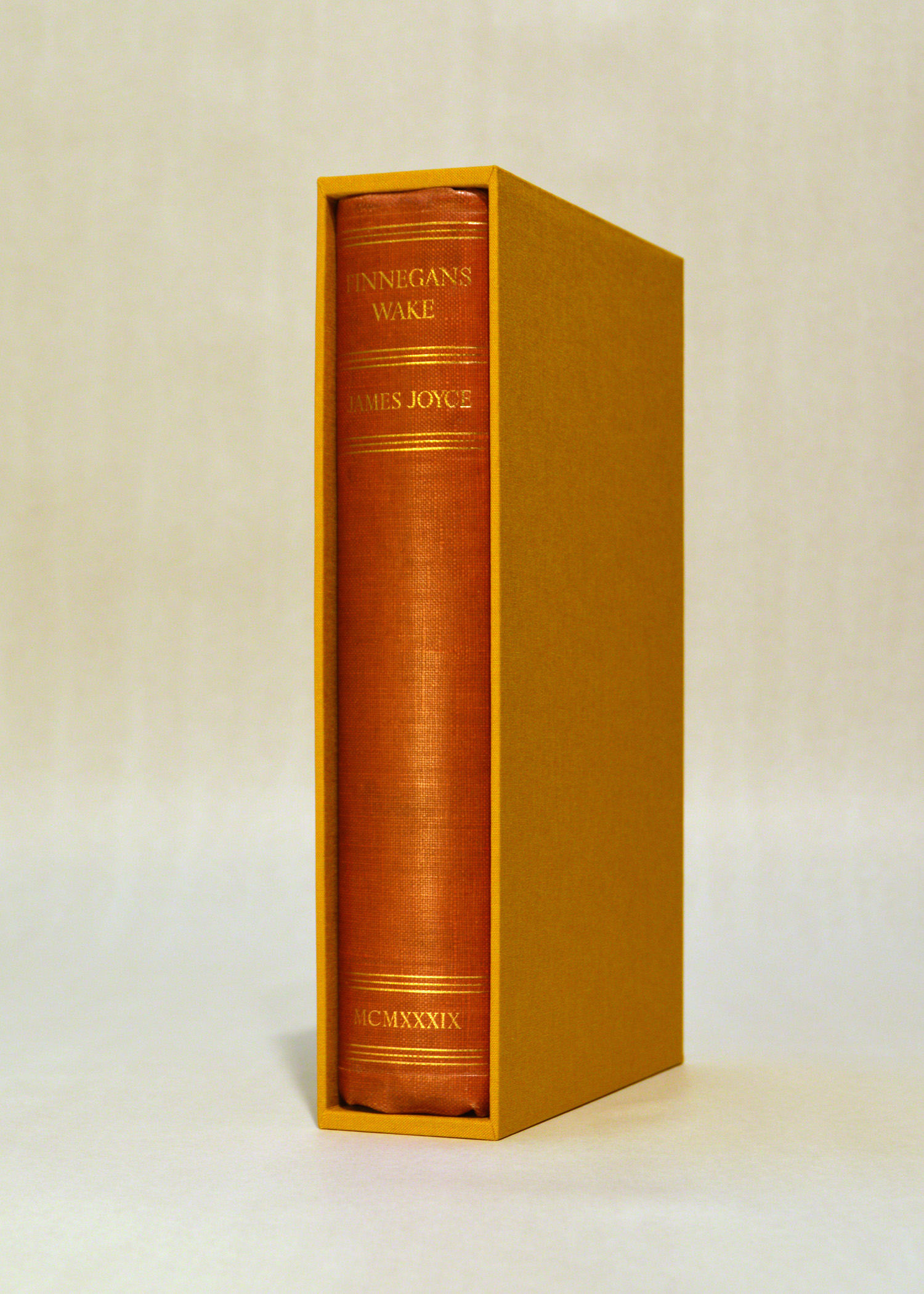 Custom Slipcase for Rare Book