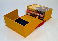 1/2 Leather Rounded Spine Book Box