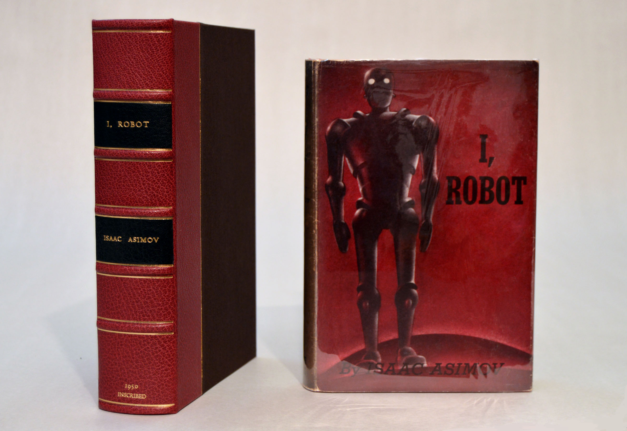 Rare Book Clamshell Box Asimov