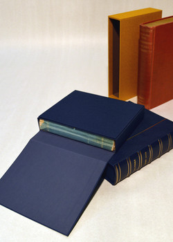 Rare Book Clamshell Box and Slipcase