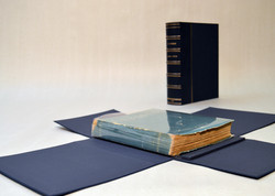 Rare Book Clamshell Box with Chemise