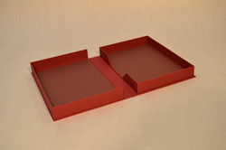 Cloth Clamshell Box for Documents