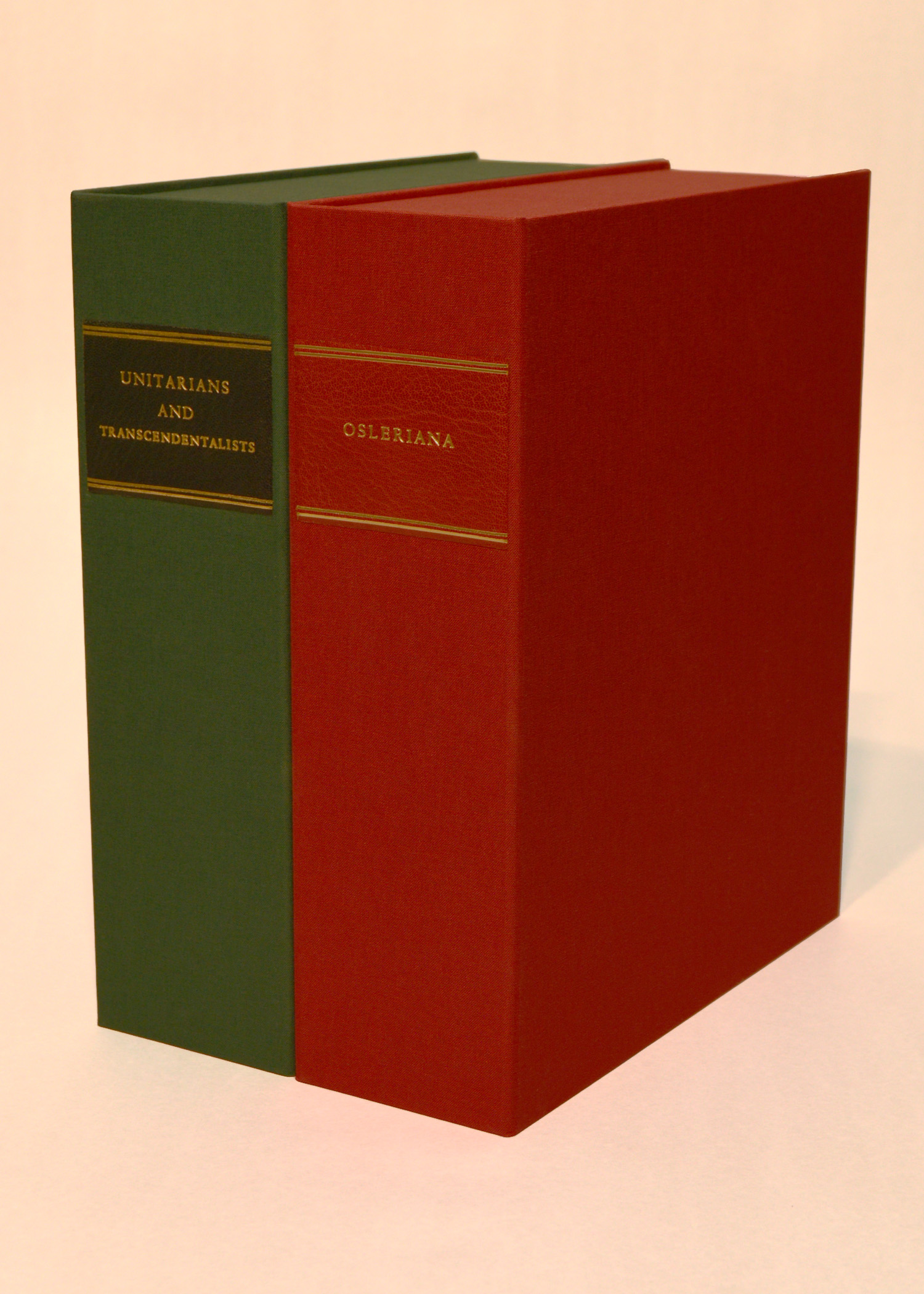 Cloth Clamshell Boxes for Documents